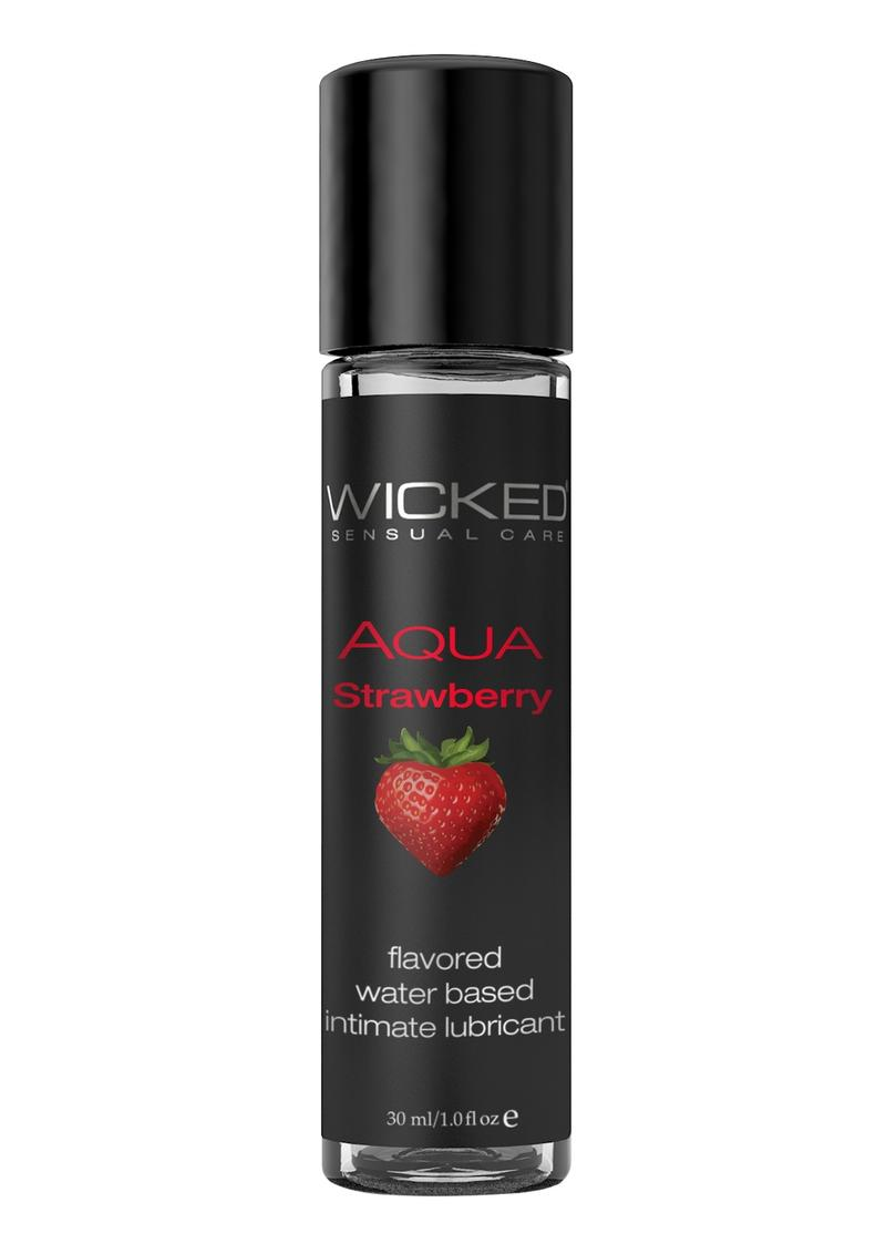 Wicked Aqua Strawberry 1oz.