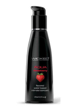 Wicked Aqua Strawberry 4oz.