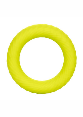 Link up Ultra-Soft Edge Cock Ring - Yellow