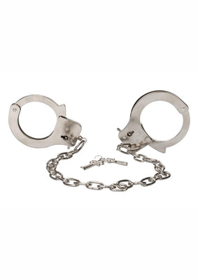 Chrome Hand Cuffs with 19 Inch Chain