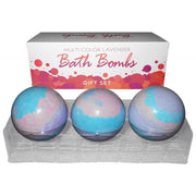 Bath Bomb Multi Color (3pc) Lavender Gift Set