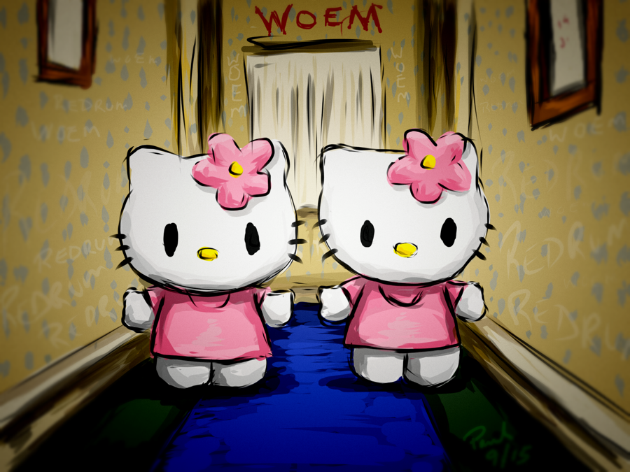 Hello Kitty The Shinning I (18 x 24 Print)