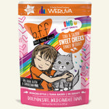 BFF OMG Chicken, Turkey & Salmon 2.8oz Cat Pouch