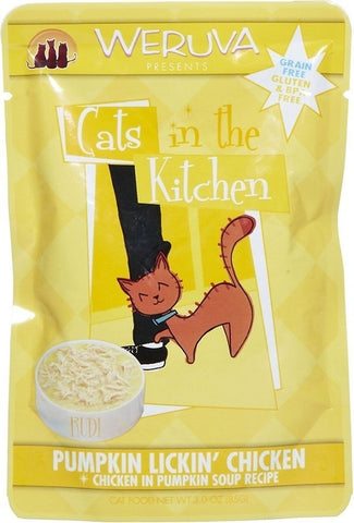 Cats in the Kitchen Pumpkin Lickin' Chicken 3oz Cat Pouch