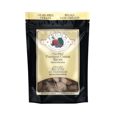 Fromm Dog Treats - Parmesan Cheese 8oz