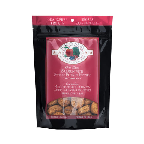 Fromm Dog Treats - Salmon with Sweet Potato 8oz