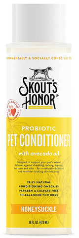 Skout's Honor Probiotic Honeysuckle Pet Conditioner