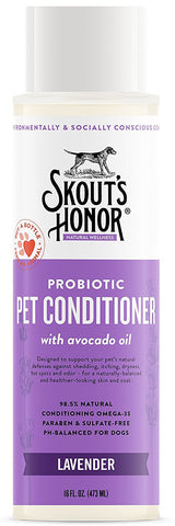 Skout's Honor Probiotic Lavender Pet Conditioner