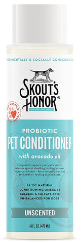 Skout's Honor Probiotic Unscented Pet Conditioner