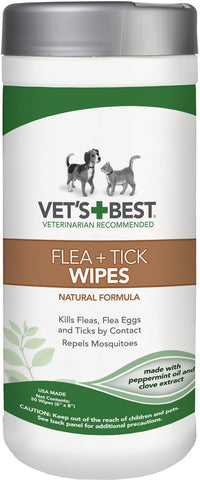 Vet's Best Flea & Tick Wipes
