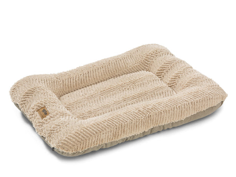 West Paw Heyday Dog Bed - Plush Oatmeal