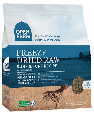 Open Farm Surf & Turf 13.5oz Freeze Dried Raw