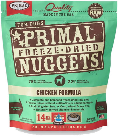 Primal Freeze-Dried Chicken Formula Dog Food