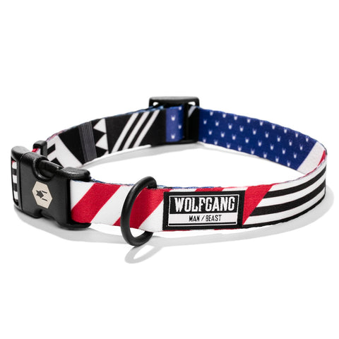 Wolfgang Man & Beast PledgeAllegiance Dog Collar