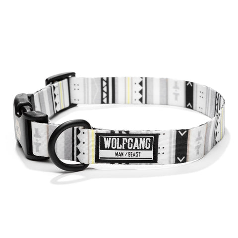 Wolfgang Man & Beast WhiteOwl Dog Collar