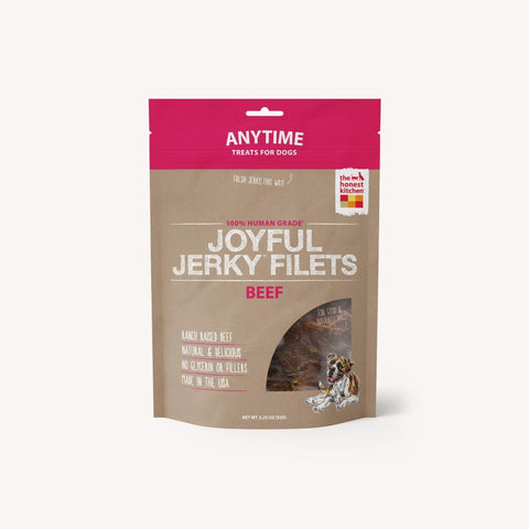 The Honest Kitchen Joyful Jerky Bites Beef Dog Treats