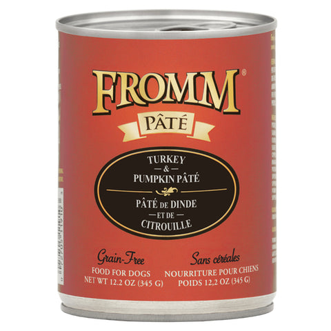 Fromm Turkey & Pumpkin Pâté 12.2oz Can