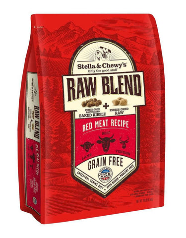 Stella & Chewy's Freeze-Dried Raw Blend Kibble - Red Meat Recipe