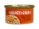 Against The Grain Tuna Toscano with Tomato & Salmon 2.8oz Can