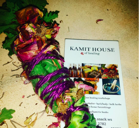 Kamit House Ultimate Creative Energy Smudge