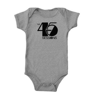 The 45 Sessions Logo (Black) Onesie