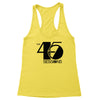 The 45 Sessions Logo (Black) Women's Racerback Tank
