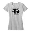 The 45 Sessions Logo (Black) Women's V