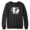 The 45 Sessions Logo (White) Crewneck