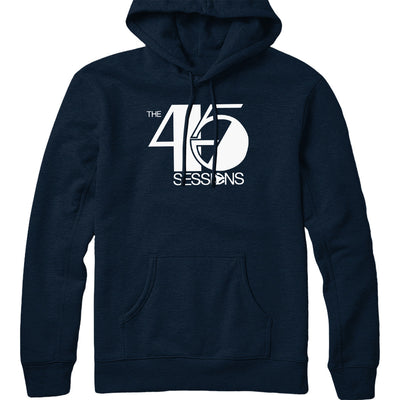 The 45 Sessions Logo (White) Hoodie