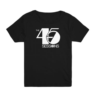The 45 Sessions Logo (White) Kid's Tee