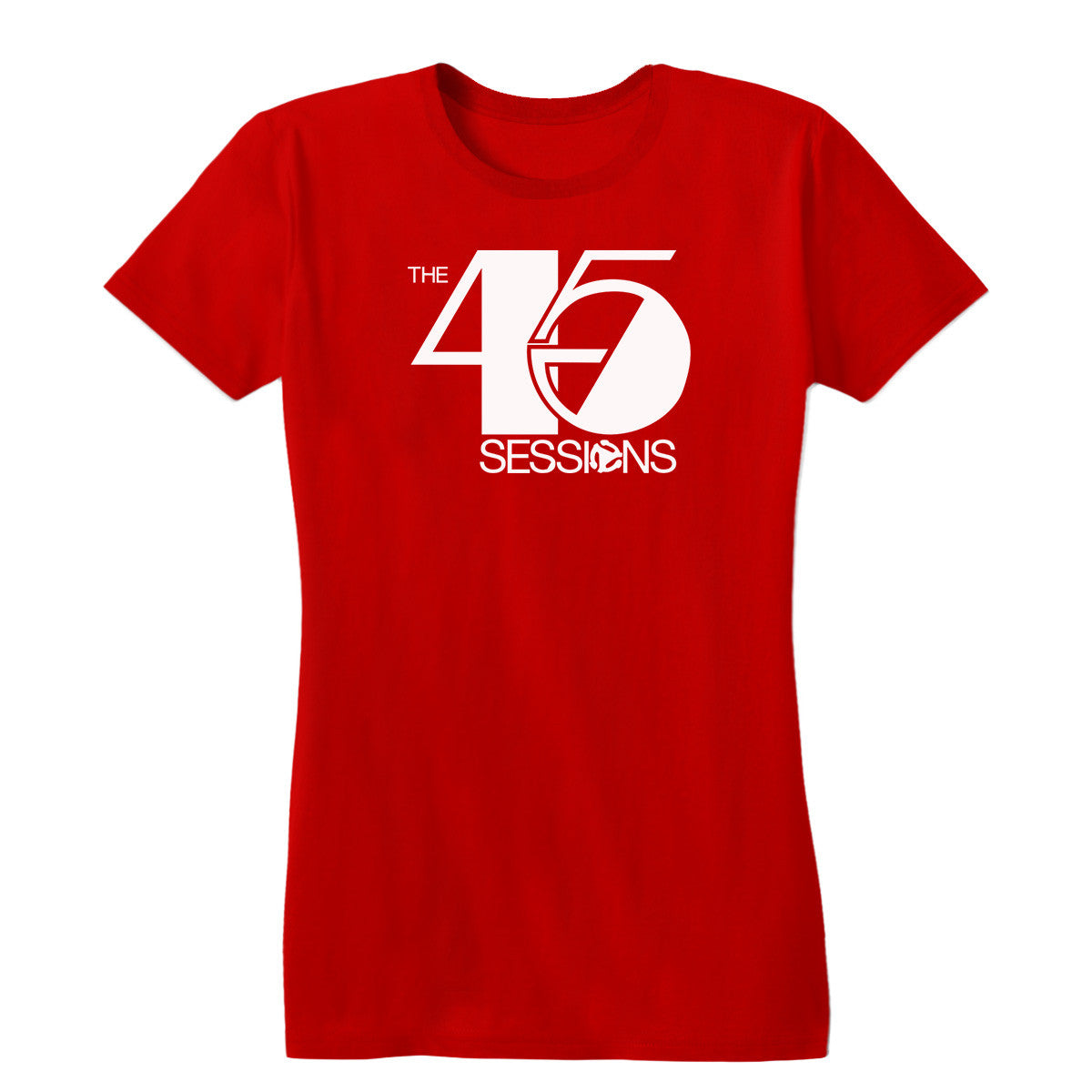 The 45 Sessions Logo (White) Women's Tee