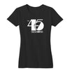The 45 Sessions Logo (White) Women's V