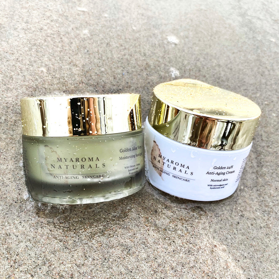 Golden 24H Anti-Aging Face Cream Normal Skin