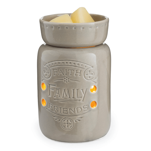 Candle Threads | Faith, Family, Friends Midsize Fragrance Warmer