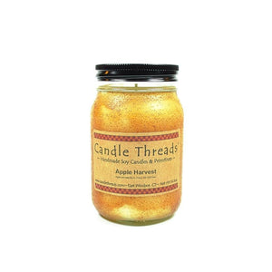 Candle Threads | 16oz Apple Harvest Soy Candle