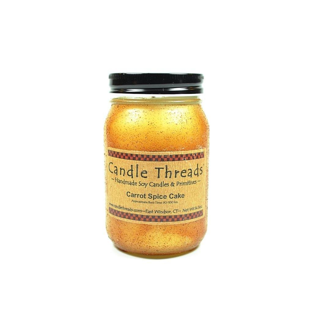 Candle Threads | 16oz Carrot Spice Cake Soy Candle