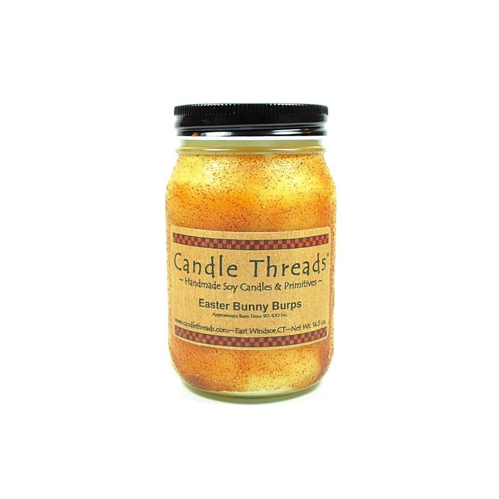 Candle Threads | 16oz Easter Bunny Burps Soy Candle