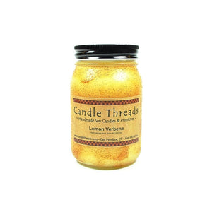 Candle Threads | 16oz Lemon Verbena Soy Candle