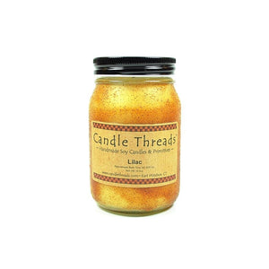 Candle Threads | 16oz Lilac Soy Candle