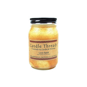 Candle Threads | 16oz Love Spell Soy Candle