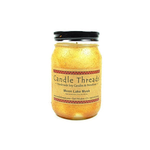 Candle Threads | 16oz Moon Lake Musk Soy Candle