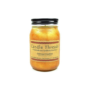 Candle Threads | 16oz Oatmeal Cookies Soy Candle