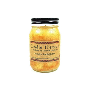 Candle Threads | 16oz Pumpkin Apple Butter Soy Candle