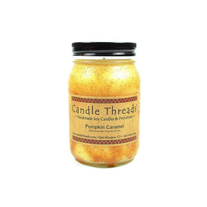 Candle Threads | 16oz Pumpkin Caramel Soy Candle