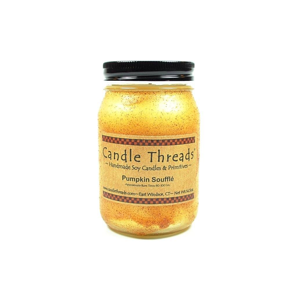 Candle Threads | 16oz Pumpkin Souffle Soy Candle