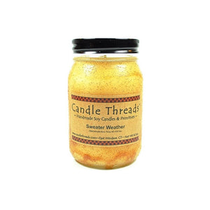 Candle Threads | 16oz Sweater Weather Soy Candle