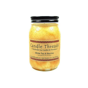 Candle Threads | 16oz White Tea & Berries Soy Candle