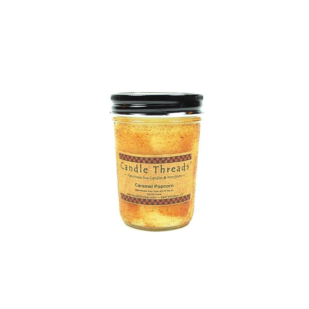 Candle Threads | 8oz Caramel Popcorn Soy Candle