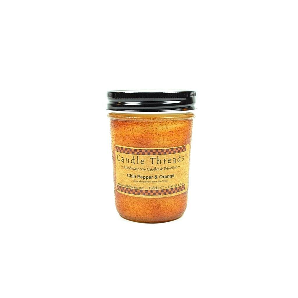 Candle Threads | 8oz Chile Pepper & Orange Soy Candle