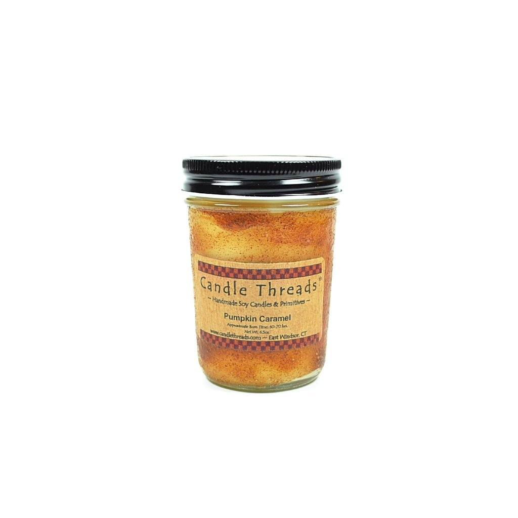 Candle Threads | 8oz Pumpkin Caramel Soy Candle
